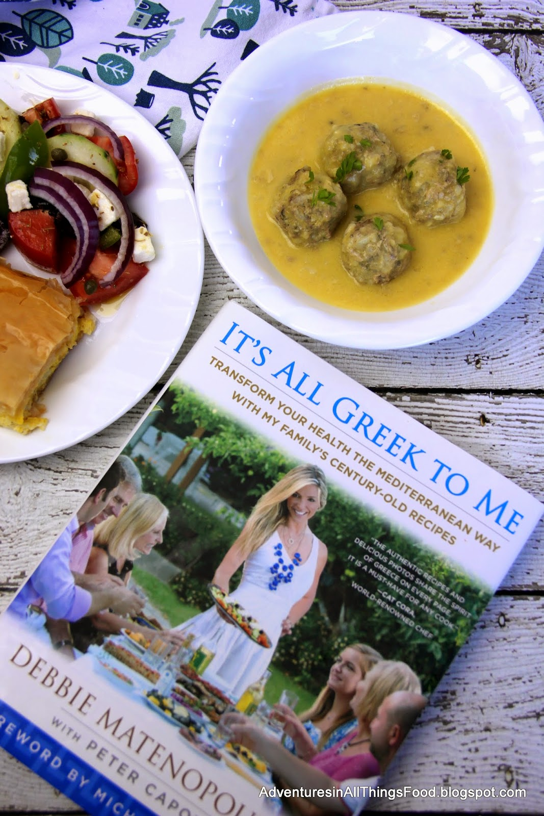 Adventures in all things food greek meatball soup youvarlakia one of my all time favorite favorite restaurants in town is a little greek restaurant called alexanders you have to understand that i have never been to forumfinder Choice Image