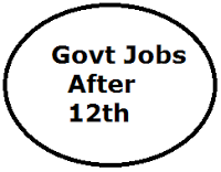Govt Jobs After 12th