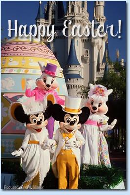 Mr. & Mrs Easter Bunny Walt Disney World