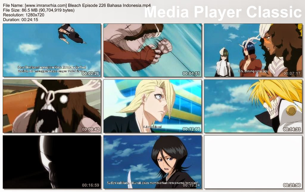Download Bleach Episode 01 Sub Indonesia 3gp 02 23