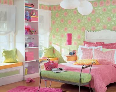 Model kamar tidur Perempuan Yang menawan