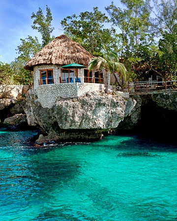 Rock house, Jamaica.