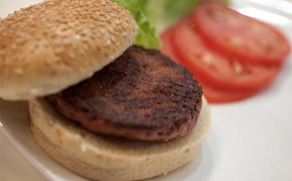 Cultured burger