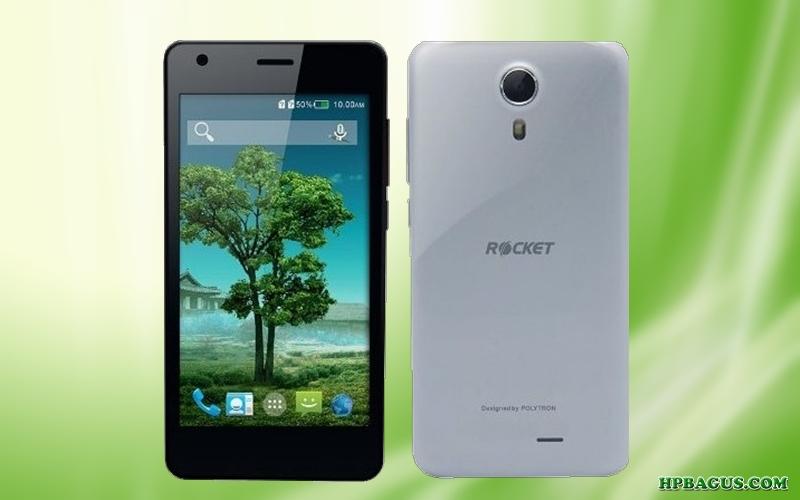 Harga Polytron Rocket S1 R2452 dan Spesifikasi, Ponsel Android Bertenaga Quad-core Murah