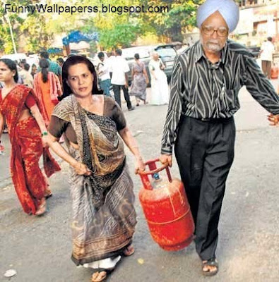 Manmohan Singh And Sonia Gandhi Funny Wallpapers