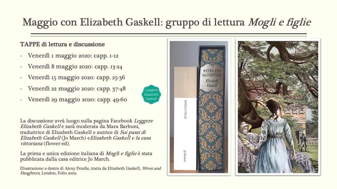 """Gruppo di lettura in corso! """"Mogli e figlie"""" di Elizabeth Gaskell"""