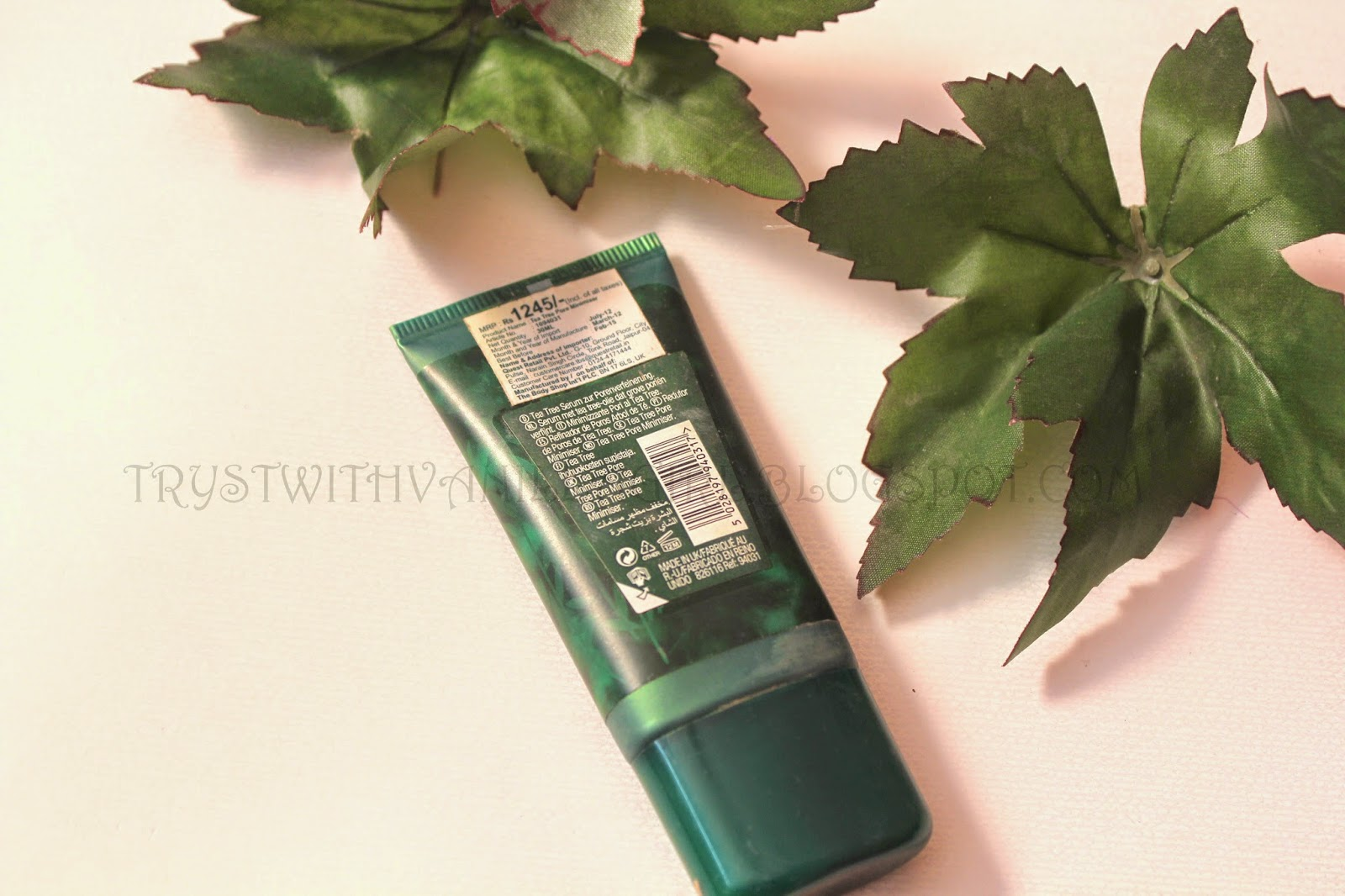 THE BODY SHOP TEA TREE PORE MINIMISER:REVIEW
