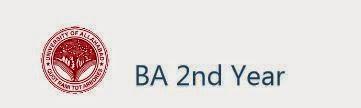 Allahabad University BA Part 2 Result 2014
