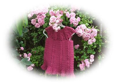 baby,crochet,easy,dress,lacy,cute,free pattern