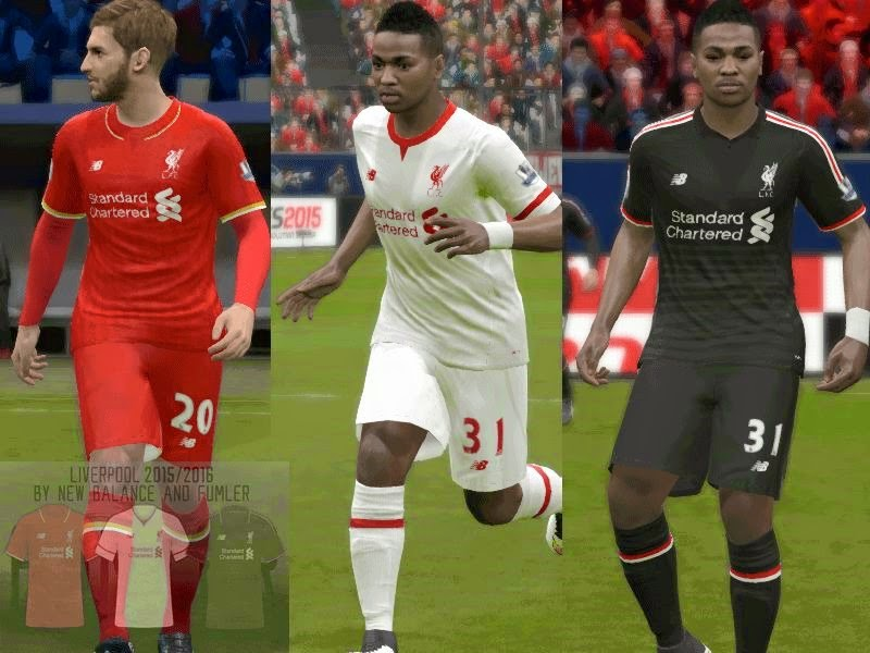 Liverpool fc Clasicos Pes 2015 Liverpool fc 15/16
