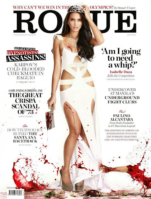 Isabelle Daza on Rogue Magazine's 2012 issue