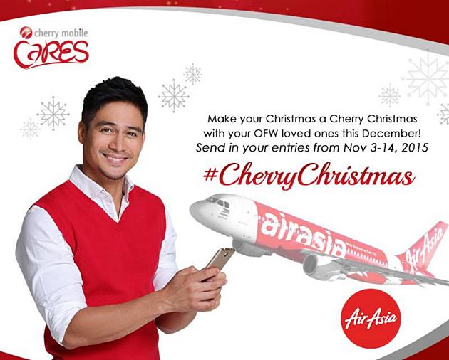 Cherry Mobile, Piolo Pascual, AirAsia