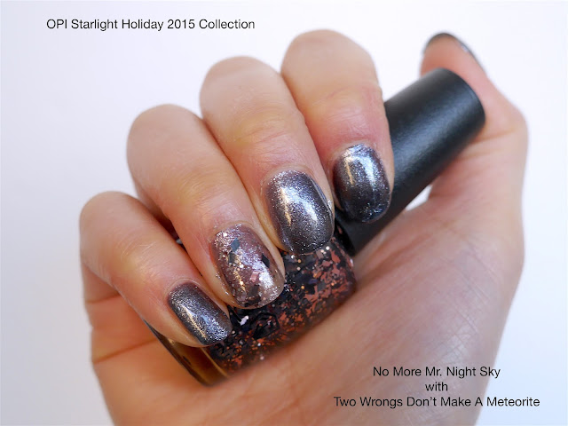 OPI - No More Mr. Night Sky and Two Wrongs Don't Make A Meteorite
