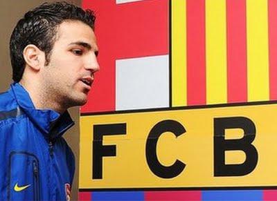 Arsenal Transfer Cesc Fabregas to Barcelona