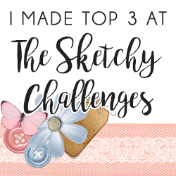 In de top3 bij The Sketchy Challenges!