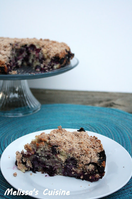 Melissa's Cuisine: Blueberry Buckle