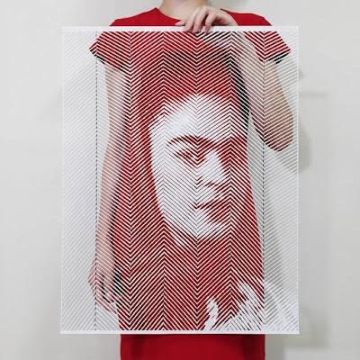 artista collage frida kahlo