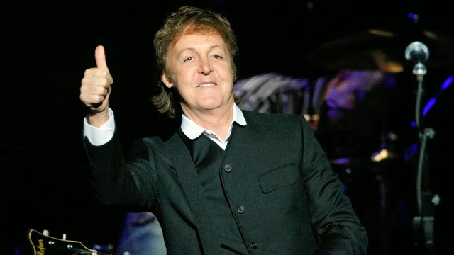 Transporte show Paul McCartney ex-beatles