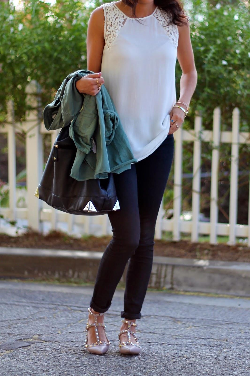 zara blouse j brand jeans