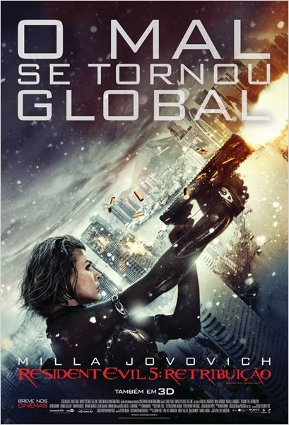 Filme Poster Resident Evil 5 – Retribuição TS XviD Dual Audio & RMVB Dublado