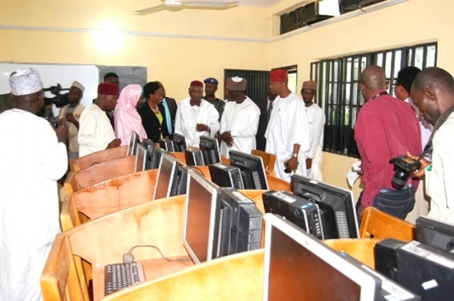 Etisalat Donates computers & Accessories to ICT Centre at Kano School