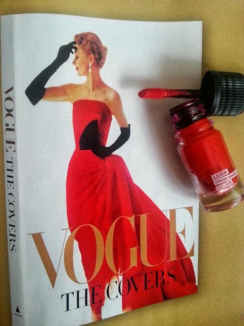 Vogue, Lush, lipstick