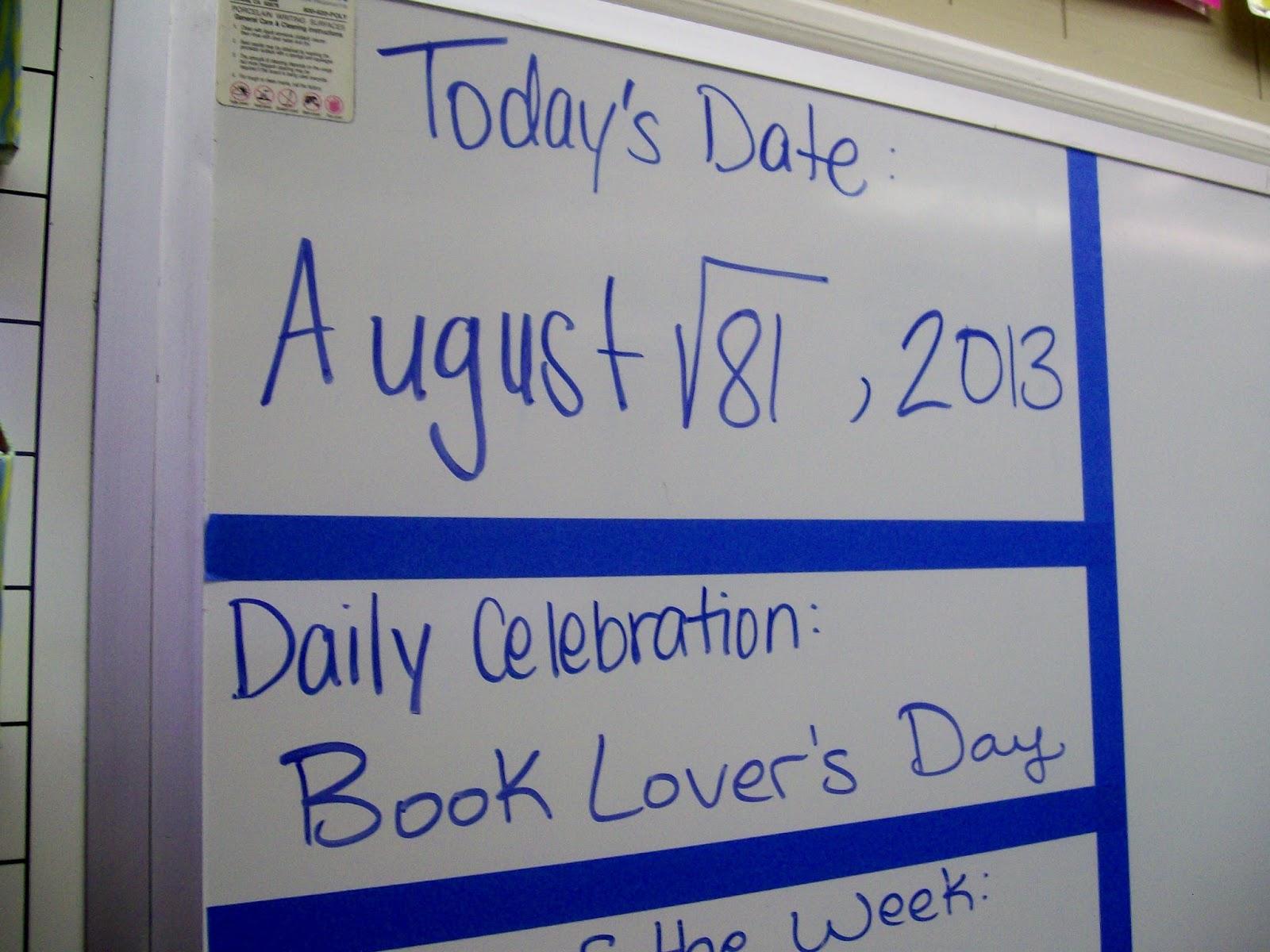 Math = Love: Universal Letter Writing Week 2014