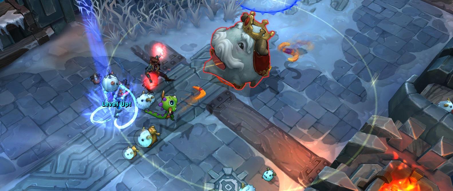 Hình ảnh đầu tiên của chế độ chơi mới Huyền thoại vua Poro