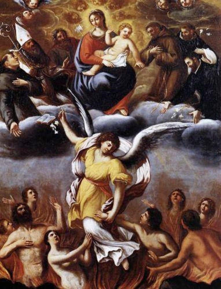 Santas almas do Purgatório