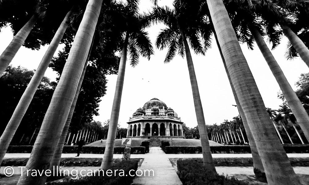 Monuments in Lodhi Garden, Delhi, India