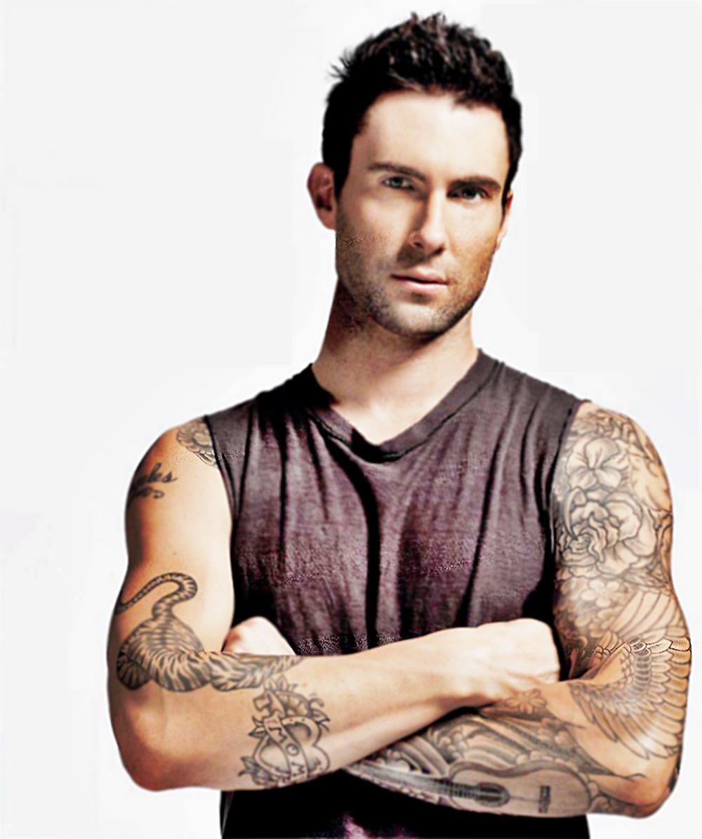 Chatter busy adam levine quotes for Adam levines tattoos