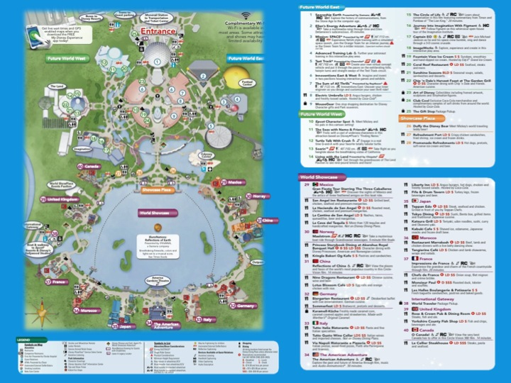 Disney World Maps Printable 2016 | Search Results | Calendar 2015