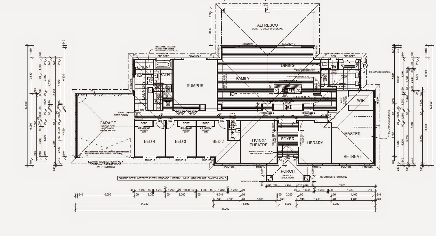 J G King Home Designs Part - 36: The Total Extras Were Approx $70,000 (not Including Site Costs).