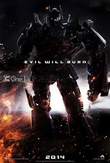 "Ini Dia, Optimus Prime Di Transformer 4 "" Evil Will Burn """