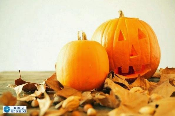 Las calabazas para decorar la para Halloween