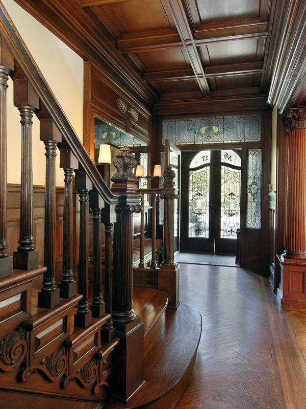 Old world gothic and victorian interior design june 2013 Brooklyn brownstone interior