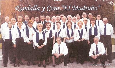 Rondalla y coro El Madroño, Valdebernardo 12 abril 19:00