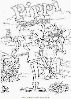 Malvorlagen Gratis De Ausmalbilder Pippi Langstrumpf My Blog