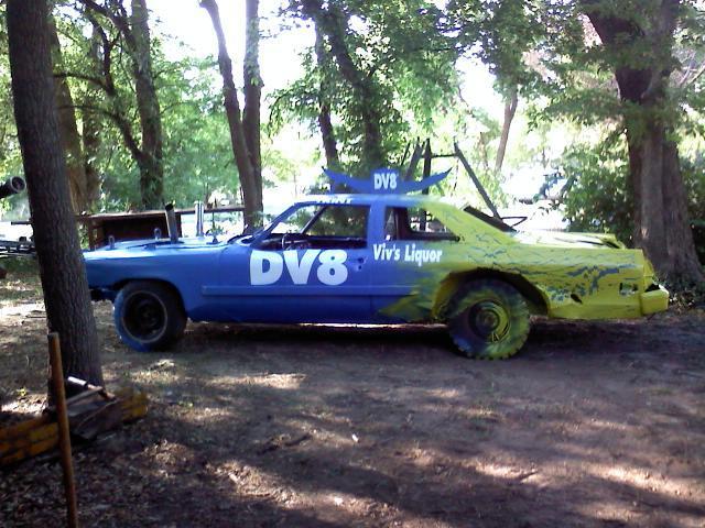 Building Demolition Derby Car : Barnard banter july
