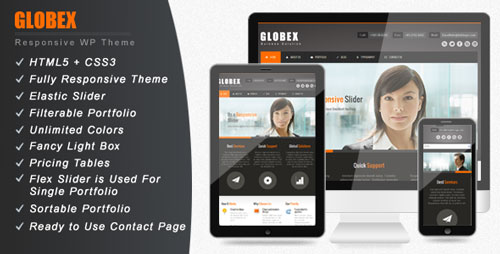 ThemeForest - Globex - Responsive Business WordPress Theme