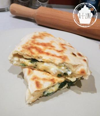 gozlemes ou pain plat turcs farcis