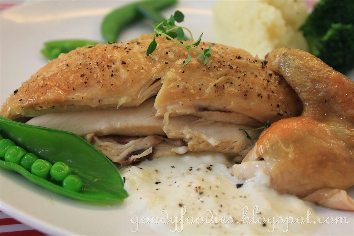 GoodyFoodies: Recipe: Thomas Keller's Simple Roast Chicken (mon poulet ...