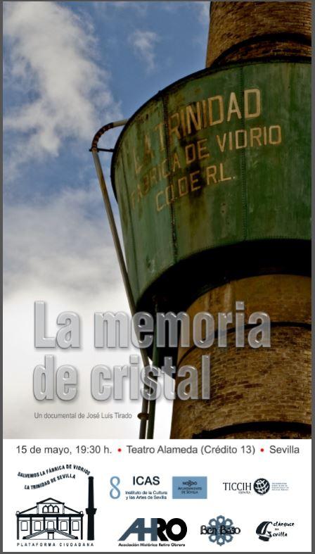 """ESTRENO DOCUMENTAL """"LA MEMORIA DE CRISTAL"""" de José Luis Tirado"""