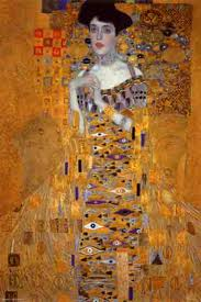 Gustav Klimt painting of woman