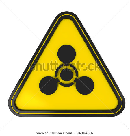 Chemical Weapons Symbol Black And White
