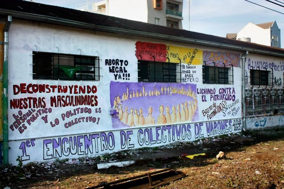 """Mural en Estaciòn """"Haedo"""""""