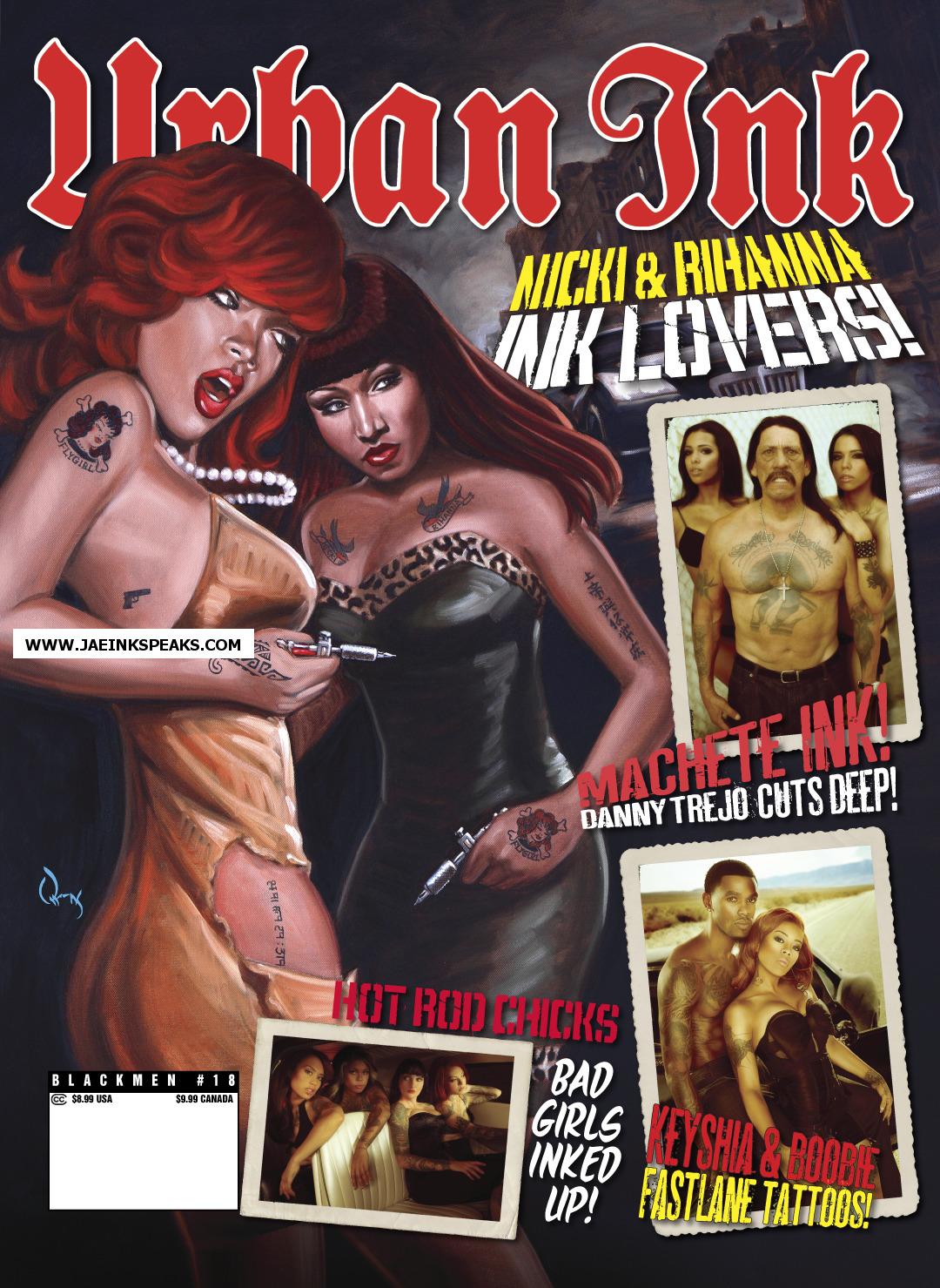 look at Rihannas tattoos