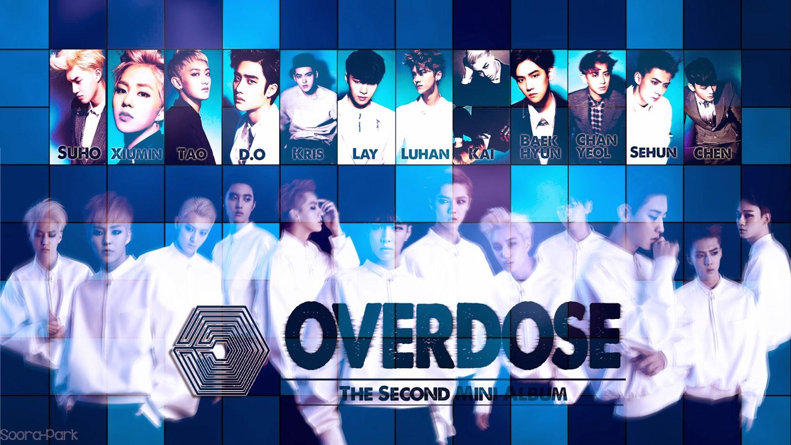 Fantasy Purple Sunset: EXO (12 Member) - Overdose (Blue Square Effect)