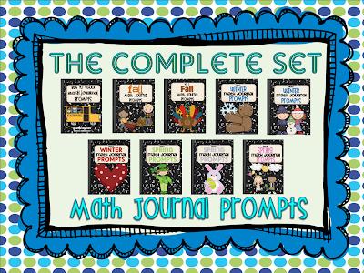 http://www.teacherspayteachers.com/Product/Math-Journal-Prompts-The-Complete-Set-243016