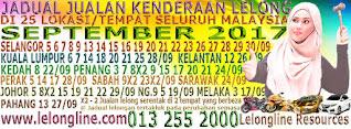 1-30/9/17 JADUAL 64 JUALAN KENDERAAN LELONG SELURUH MALAYSIA,SEKITAR KLANG VALLEY-SELANGOR/K LUMPUR